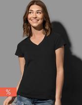 Janet Organic V-Neck for women